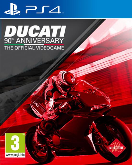 Ducati 90th Anniversary Esclusiva GameStop