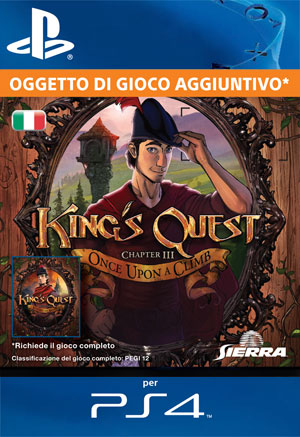 King's Quest - Capitolo 3: Once Upon a Climb