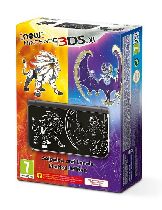 New Nintendo 3DS XL - Solgaleo e Lunala Limited Edition