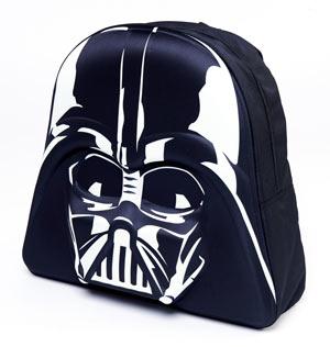 check-out aab64 6d769 Zaino Star Wars - Dark Fener 3D - Nero