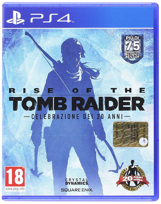 Rise Of The Tomb Raider 20 Year Celebration Gamestopzing Italia