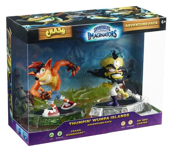Skylanders Imaginators - Crash Bandicoot Adventure Pack