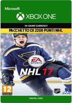 NHL 17 - Pacchetto di 2200 punti