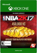 NBA 2K17 - 450.000 VC