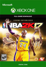 NBA 2K17 - Legend Edition Gold