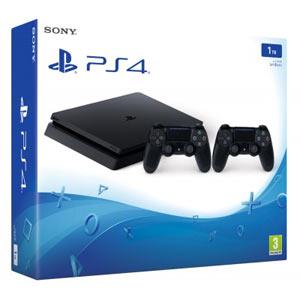 PS4 Slim 1TB + 2 Controller