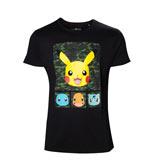T-Shirt Pokèmon - Pikachu & Amici - Taglia M