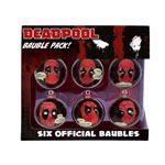 Set Palline di Natale - Deadpool (6 pz.)