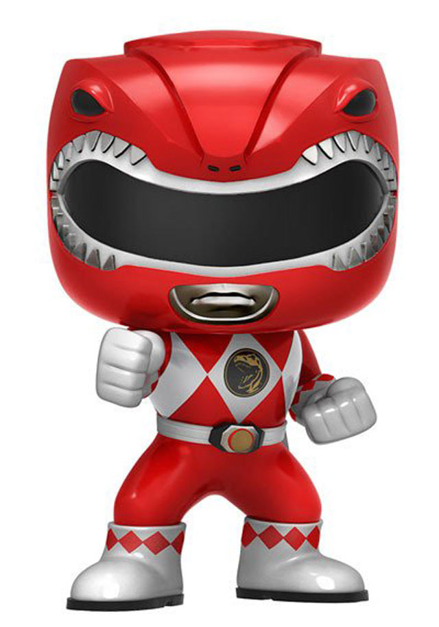 Funko pop power ranger rosso gamestop italia