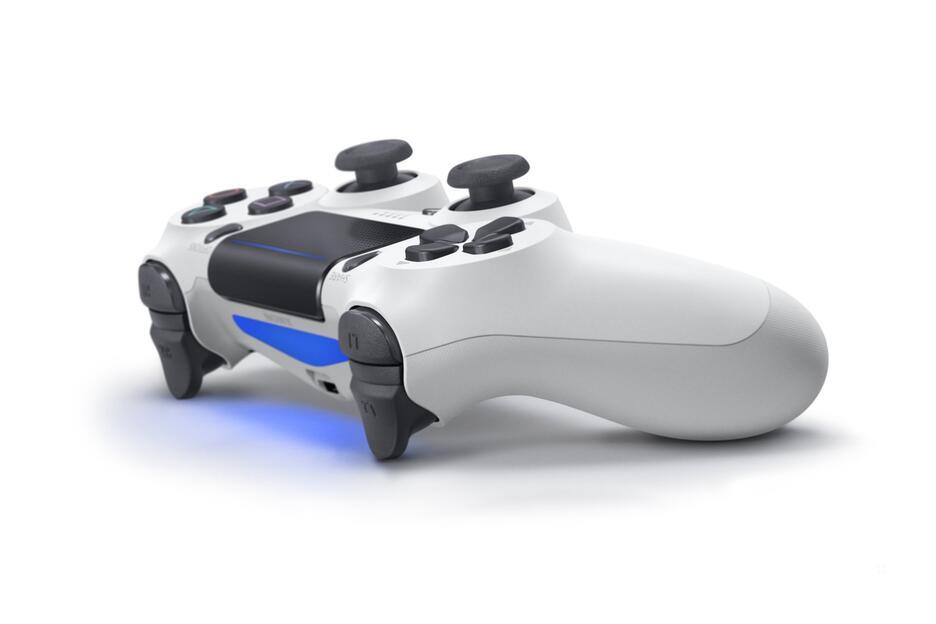 Controller PlayStation 4 - DUALSHOCK®4 V2 Bianco Ghiaccio