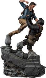 Figure Uncharted 4 - Nathan Drake Diorama