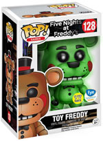 Funko Pop! - Toy Freddy (Glow in the Dark) Limited Edition