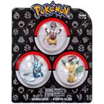 Ciondolo Pokémon: Eevee x3