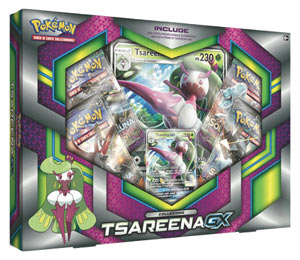 Carte Pokémon - Set Tsareena-GX