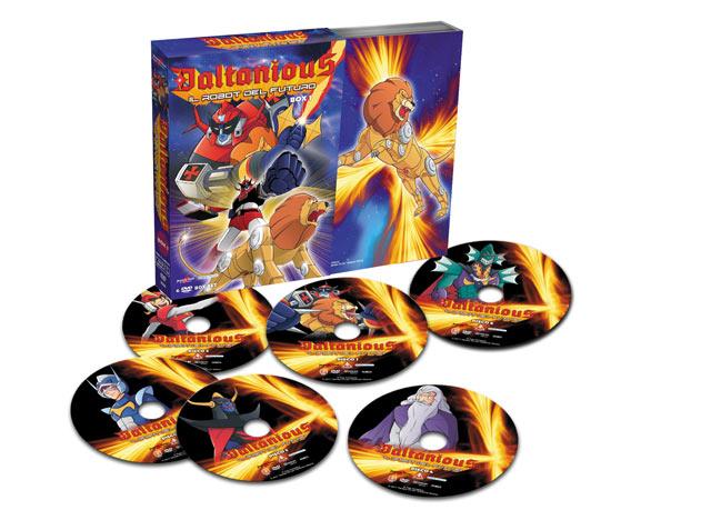 Daltanious Il Robot del Futuro - Box (Vol. 1)
