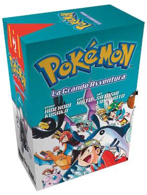 Fumetto Pokémon - La Grande Avventura - Box (Volumi 4-6)