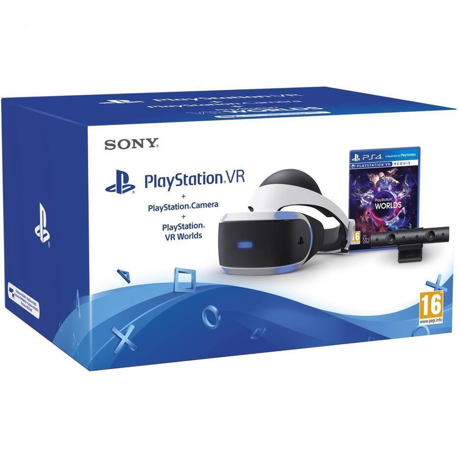 PlayStation VR + PS Camera + VR Worlds