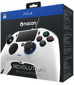 Controller PlayStation 4 - Nacon Revolution Pro Controller Bianco