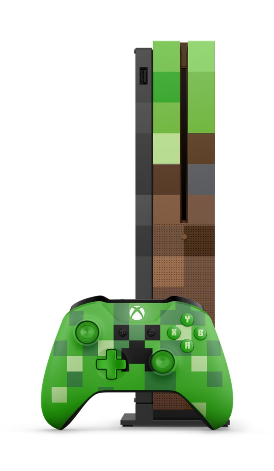 Xbox One S 1TB + Minecraft - Limited Edition