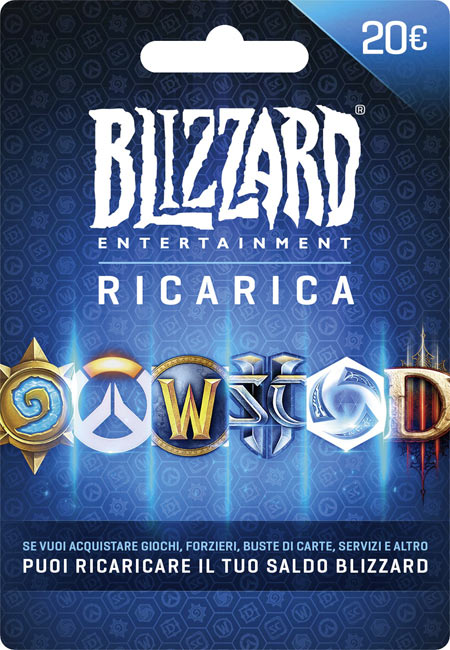 Ricarica Blizzard Battle.net 20€