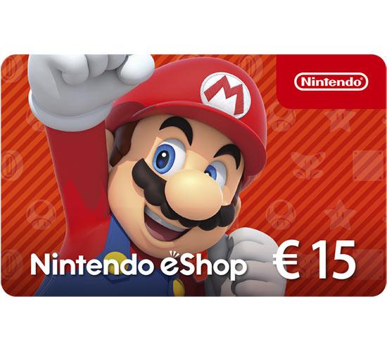 Ricarica Nintendo eShop 15€