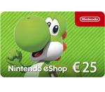 Ricarica Nintendo eShop 25€