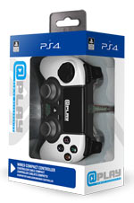 Controller Wired Bianco @Play - PS4