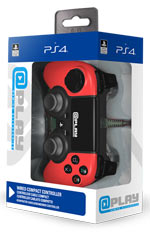 Controller Wired Rosso @Play - PS4
