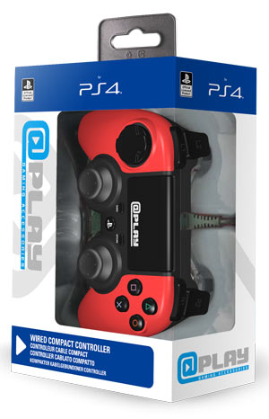 Controller @Play - Wired Rosso
