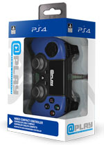 Controller Wired Blu @Play - PS4