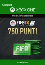 Fifa 18 - 750 FUT Points