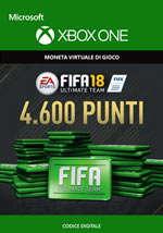 Fifa 18 - 4600 FUT Points