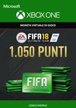 Fifa 18 - 1050 FUT Points