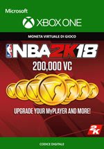 NBA 2K18 - 200.000 VC