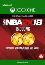 NBA 2K18 - 15.000 VC