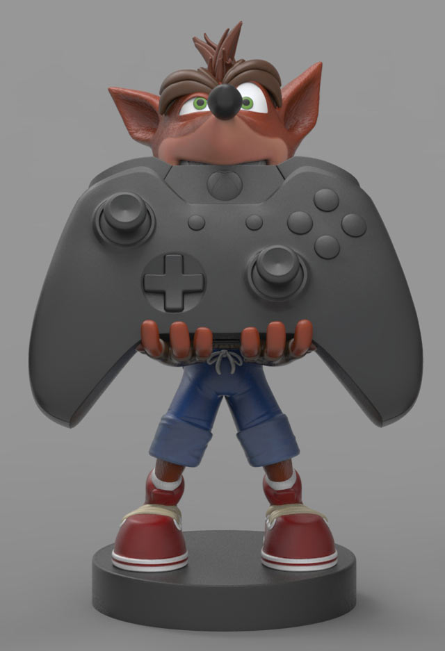 Cable Guy Crash Bandicoot Gamestop Italia