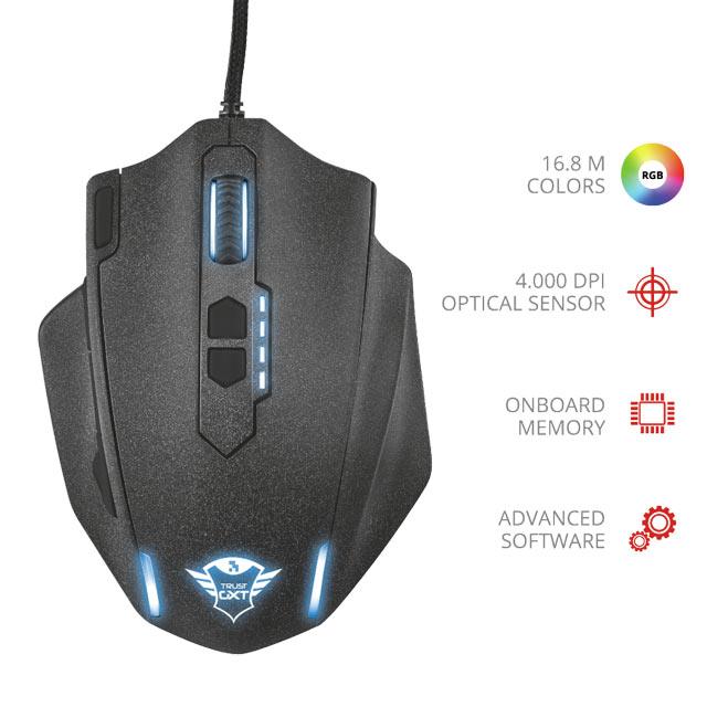 Mouse Trust - GXT 155 Caldor Black