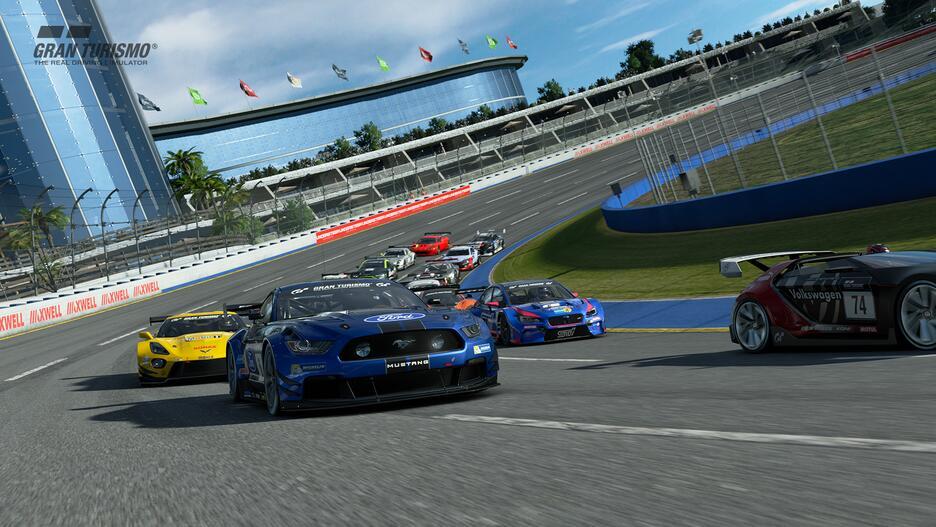 PlayStation VR + PS Camera + VR Worlds + GT Sport