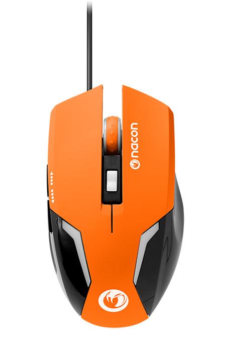 Mouse Nacon - Optical Gaming Mouse GM-105 (Arancione)