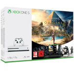 Xbox One S 1TB + Assassin's Creed: Origins + Tom Clancy's Rainbow Six: Siege