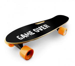 "Skate Elettrico ""Game Over"""