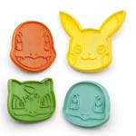 Stampini per Biscotti Pokémon - Set 4 Pezzi
