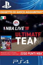 NBA Live 18 - 2.200 Points