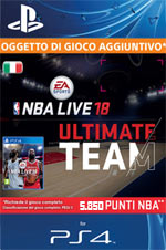 NBA Live 18 - 5.850 Points