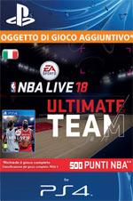 NBA Live 18 - 500 Points