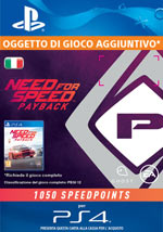 Need for Speed: Payback - 1050 Speed Points
