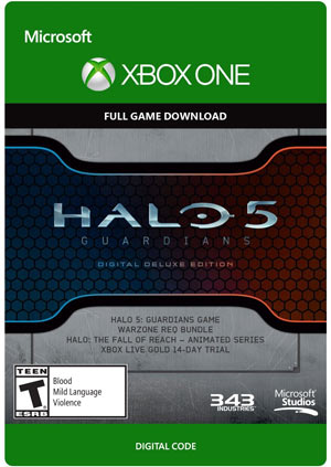 Halo 5 Guardians Deluxe Edition