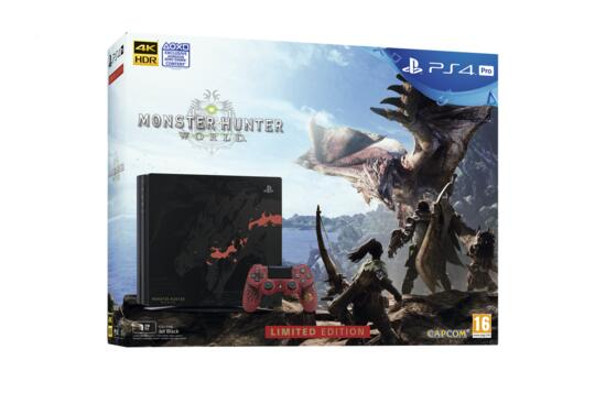 PS4 Pro 1TB Limited Edition + Monster Hunter World