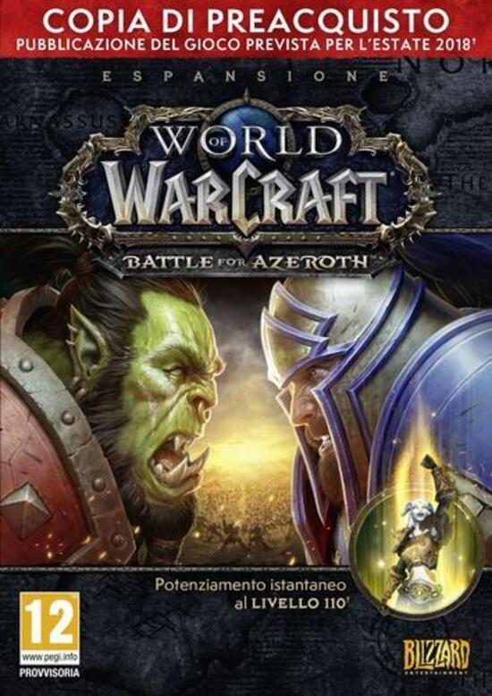 World of Warcraft: Battle for Azeroth - Edizione Pre-acquisto