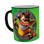 Tazza Termoreattiva - Crash Bandicoot Green